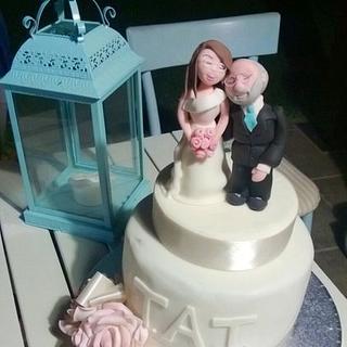 40th wedding anniversary - Cake by Eleonora Del Greco
