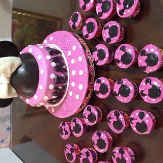 Minnie Mouse Cake - Cake by Angela de Ramos