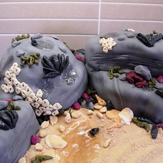 Rockpool Cake - Cake by Bonnie151