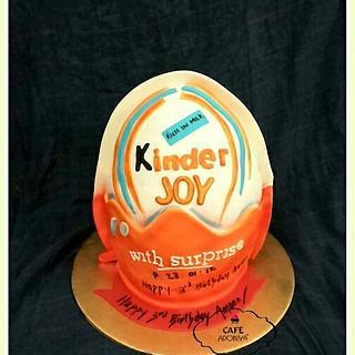 For a little kinder joy fan! - Cake by Maaria