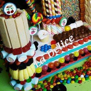 Candy castle land