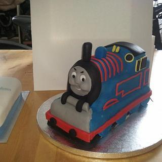 thomas the tank engine - Cake by tubachick