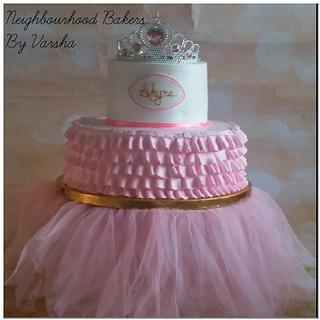 Princess theme cake - Cake by Varsha Bhargava