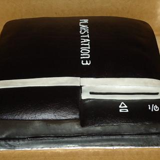 Playstation 3 Grooms Cake