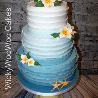 St Lucian Dreams - Cake by WickyWooWoo Cakes