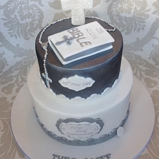 First Holy Communion cake - Cake by Gaynor's Cake Creations