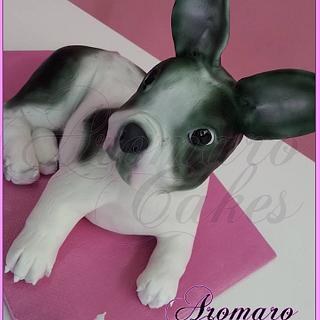 """Tarta Bulldog Frances """"Milka"""""""