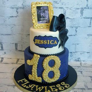 Beyonce - Flawless Cake