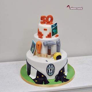 50th birthday cake - Cake by Naike Lanza