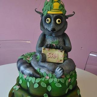 King Julian cake