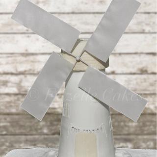 Windmill wedding cake - Cake by Frizellecakes