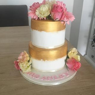 Pretty cake for our teacher