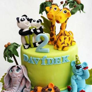 postavičky na dortu - Cake by Táji Cakes