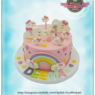 Sky cake
