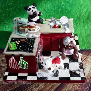 Stéphanie - Bear Birthday Cake