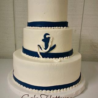 Nautical Wedding Cake