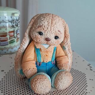 ,,soft,, bunny boy topper