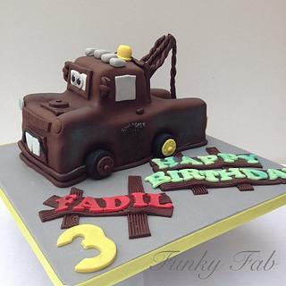 Mater birthday cake