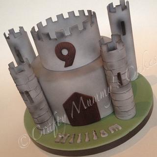 Castle Cake - Cake by CraftyMummysCakes (Tracy-Anne)