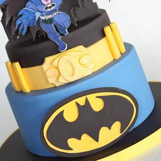 Batman Cake - Cake by Tracy Moran