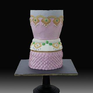 The Pink Dress Cake