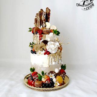 Drip Cake  - Cake by Ivon