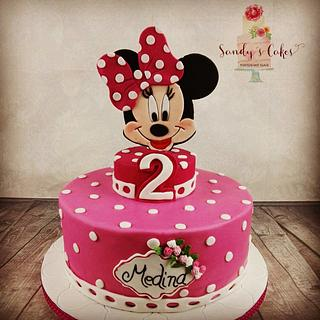 Minnie Mouse - Cake by Sandy's Cakes - Torten mit Flair