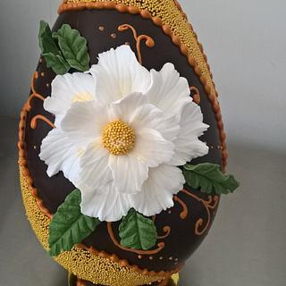 chocolate  egg  - Cake by martina bikovska