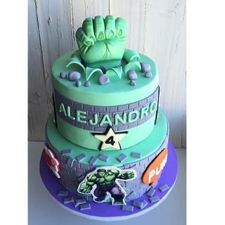 Hulk Cake - Cake by Be Sweet