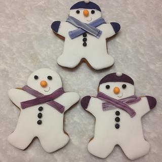 Snowmen Gingerbreads