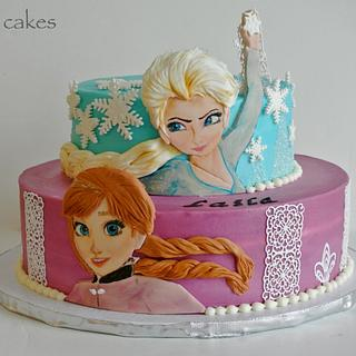 Frozen - Cake by Magda's cakes
