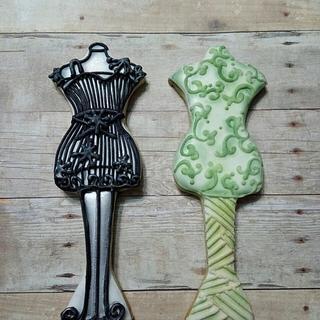 Mannequin cookies