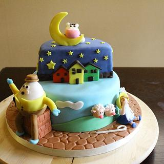 Nursery ryhme shower cake - Cake by Reni Hendra