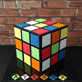 Rubik Cube cake - Cake by Nikita Mahmood