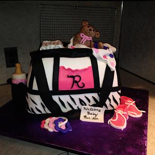 Diaper bag - Cake by Tracie