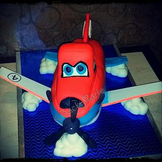 Dusty from Disney Planes - Cake by Back-Marie