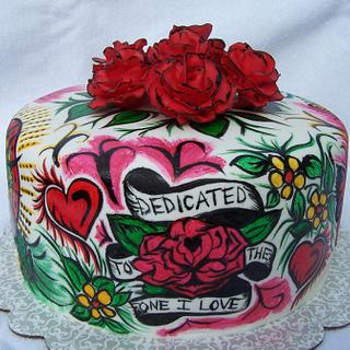 Ed Hardy Cake - Cake by Kristi