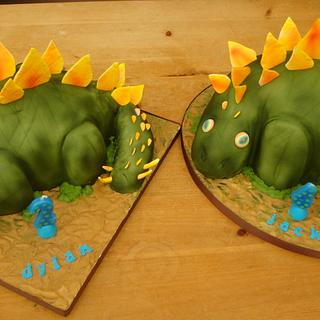 Dinosaurs birthday cakes - Cake by Claire