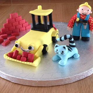 Bob the Builder Cake Topper
