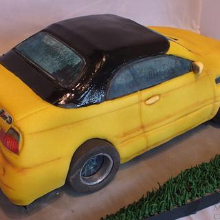 Making of a BMW Cake
