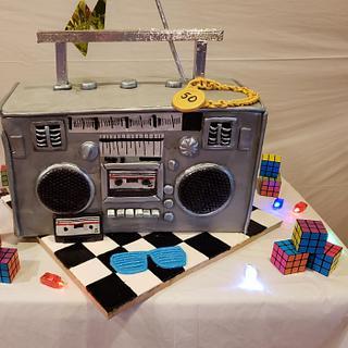 Boombox Cake - Cake by Maritza's Sugar Creation