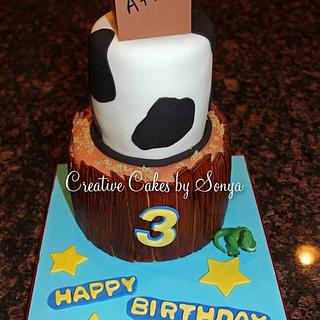 Toy Story 3 Birthday Cake