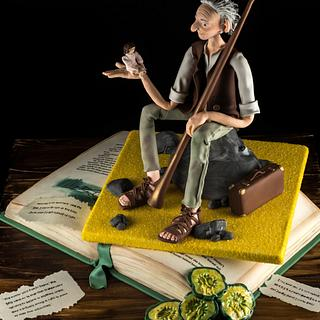 Roald Dahl's - The BFG - Cake by Julie's Cake in a Box