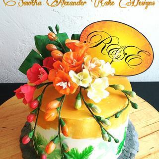 A keralan adventure - Cake by Savitha Alexander