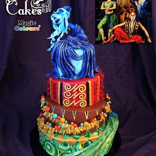 Cirque Costume Collab, DRALION - Cake by Heather -Art2Eat Cakes- Sherman