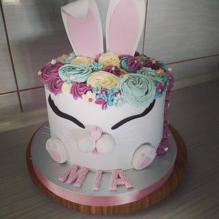 Bunny cake - Cake by Tortalie