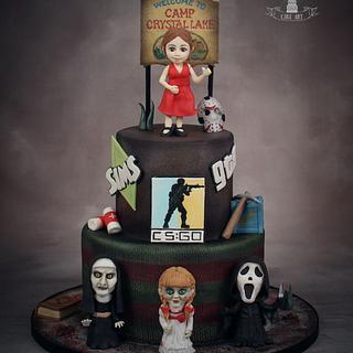 Horror cake - Cake by Twister Cake Art