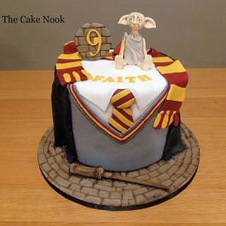 Harry Potter Cake with Dobby.