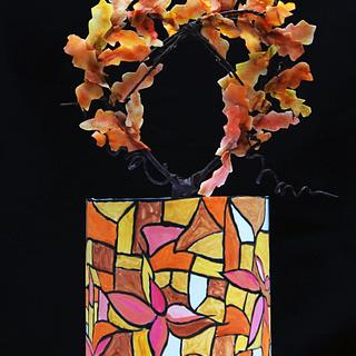 Fall theme  - Cake by Ashisumbul