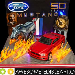 Ford Mustang 50th Anniversary Collaboration